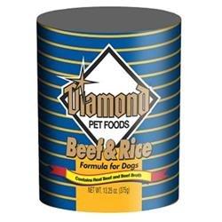 Dog Supplies Diamond Dog Beef/Rice
