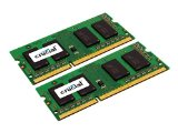 Crucial 8GB Kit (4GBx2) DDR3L 1600 (PC3-12800) 204-Pin SODIMM High Density x4based - CT2KIT51264BF160BJ / CT2CP51264BF160BJ