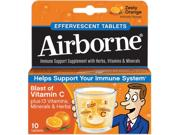 Advantus Airborne Flavored Effervescence Tablets Type: Snacks & Condiments Quantity: 10 / Box Flavor: Zesty Orange