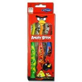 3pk Angry Birds Suction Cup Toothbrush