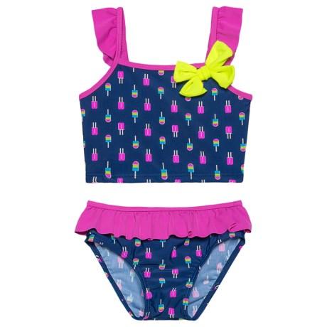 Neon Popsicles Bikini Set - Upf 50 (for Toddler Girls)
