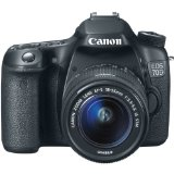 Canon EOS 70D Digital SLR Camera with 18-55mm STM Lens