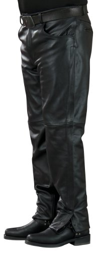 Mossi Inseam Men's Leather Pants (Black, Size 32)