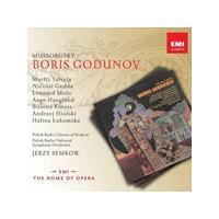Modest Mussorgsky: Boris Godunov (Music CD)