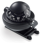 """""""Brunton Rally Brand New Includes Lifetime Warranty, The Brunton Rally - Black is a floating disc compass featuring direct-reading configuration that shows the direction of motion"""