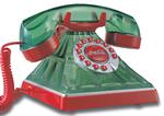 Novelty Polyconcept Coke Green Glass Phone Coca-cola Green Glass Phone