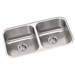 Proflo PFUC206 31-1/4 Double Basin Undermount 18-Gauge Stainless Steel Kitchen