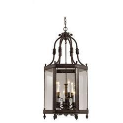 Windsor Hanging Lantern in Venetian Bronze