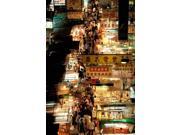 Temple Street Market, Kowloon, Hong Kong, China Poster Print By Walter Bibikow Danitadelimont (24 X 36)