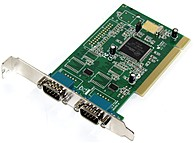 The StarTech 2 port PCI Serial card is the latest in Plug and Play high speed serial expansion cards