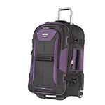 Travelpro T-pro Bold 25 Inch Exp Rollaboard-black/purple T-pro Bold 25