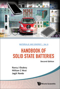 Handbook Of Solid State Batteries (second Edition)