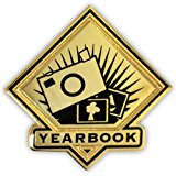 PinMart's School Lapel Pin - Yearbook