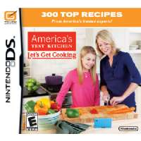 America's Test Kitchen: Let's Get Cooking Nintendo DS