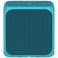 Sony Srs-x11 Speaker System - 10 W Rms - Wireless Speaker(s) - Portable - Battery Rechargeable - Blue - 20 Hz - 20 Khz - Bluetooth - Near Field Communication - Usb - Sub Band Coding (sbc), Built-in Microphone, Wireless Audio Stream, Passive Radiator Srs-x11/blue