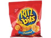 Nabisco 06834 Ritz Bits, Cheese, 1 1/2 oz Packs, 60 Packs/Carton