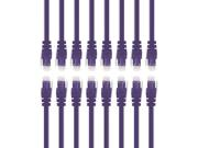 Gearit 16-pack, Cat 6 Ethernet Cable Cat6 Snagless Patch 4 Feet - Snagless Rj45 Computer Lan Network Cord, Purple - Compatible With 16 Port Switch Poe 16port Gi