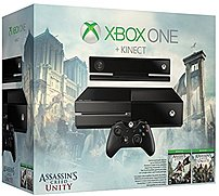 Microsoft Xbox One 6rz-00118 Gaming Console With Kinect: Assassin's Creed Unity Bundle - 500 Gb Hard Drive - Wi-fi - Black