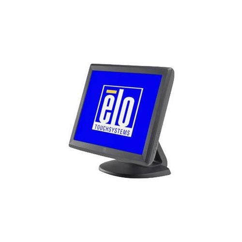 Elo 1000 Series 1515L Touch Screen Monitor - 15 - Surface Acoustic Wave - 1024 x 768 - 4:3 - Dark Gr