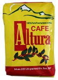 Cafe Altura 100% Pure Ground Coffee From Puerto Rico Mountains 14 oz. Bags (1 Pack)