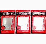 KMC 100 Pochettes Card Barrier Perfect Size Soft Sleeves, 3 Pack/Total 300 Pochettes [Komainu-Dou Original Package], Clear