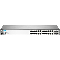 Hp 2530-24g Switch - 24 Ports - Manageable - 24 X Rj-45 - 4 X Expansion Slots - 10/100/1000base-t - Rack-mountable, Wall Mountable, Desktop J9776a