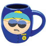 South Park Respect My Authority Mug - Eric Cartman Comedy Central Classic