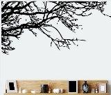 TRURENDI Stunning Tree Branch Removable Wall Art Sticker Vinyl Decal Mural Home Decor (DESIGN 1, 1)