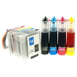 Continuous Ink Supply System for HP BusinessJet 1000 1100 1200 1300 2200 2600 CISS CIS