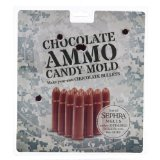 Chocolate Ammo 33283 Candy Bullet Mold