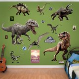 Fathead Jurassic World Dinosaurs Collection Real Decals