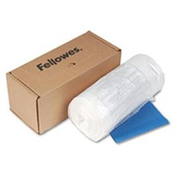 Fellowes Powershred Waste Bags for 325 Series Shredders Powershred 39-Gal Bags, 50/CT, Clear 39 gal - 39 x 21 x 15 - 50/Box - Clear