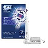 Oral-B 3000 Smartseries Electric Toothbrush with Bluetooth Connectivity, White Edition, Powered by Braun