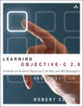 Get Started Fast with Objective-C 2.0 Programming for OS X Mountain Lion, iOS 5.1, and Beyond   Fully updated for Xcode 4.4, Learning Objective-C 2.0, Second Edition, is today's most useful beginner's guide to Objective-C 2.0