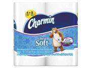 Charmin 94051EA Ultra Soft Bathroom Tissue, 2-Ply, 4 X 3.92, 154/Roll, 4 Roll/Pack