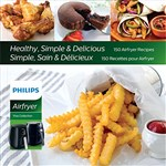 """Philips Airfryer Cookbook Brand New, The Philips Airfryer Cookbook is a 150 healthy, simple and delicious recipebook for philips airfryer viva versions HD9220 and HD9230"