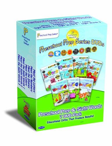 Preschool Prep & Sight Words 7 DVD Pack (Meet the Letters, Meet the Numbers, Meet the Shapes, Meet the Colors, Meet the Sight Words 1, Meet the Sight Words 2, Meet the Sight Words 3)