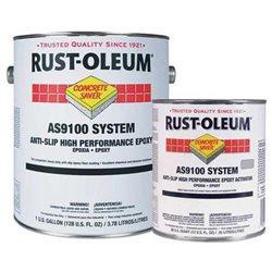 RUSTOLEUM AS9168425 AntiSlip Floor Paint, 1 gal, Tile Red