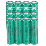 TangsFire 16pcs 1.2V 3000mAH Rechargeable Ni-MH AA Battery Rechargeable Batteries Green