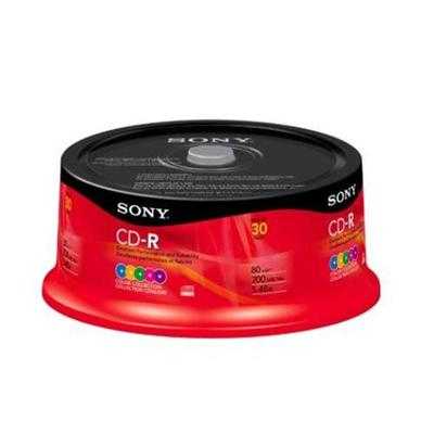 CDQ 80RSX - CD-R x 30 - 700 MB - storage media