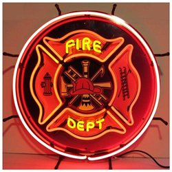 Neonetics Neon Signs - Fire Department