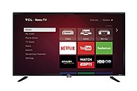 Tcl 40fs3800 40-inch Led Smart Tv With Roku - 1920 X 1080 - 120 Hz - 5,000,000:1 - Wi-fi - Hdmi