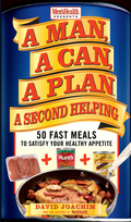 A Man, A Can, A Plan, A Second Helping - by David Joachim and the Editors of Men's Health - returns with more easy recipes for great, guy-friendly food. When award-winning cookbook author/editor David Joachim introduced the A Man, a Can series in 2002 with A Man, a Can, a Plan, readers and reviewers alike were quick to embrace the winning premise: quick, tasty, healthful meals based on canned and other convenience foods