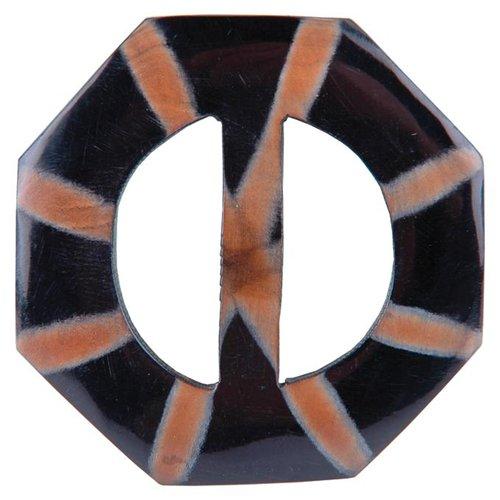 Handmade Horn Buckle-Octagon