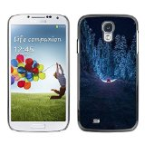 Unique design personality Drive Forest Winter Snow Road Free - Samsung Galaxy S4 I9500 ka ka case