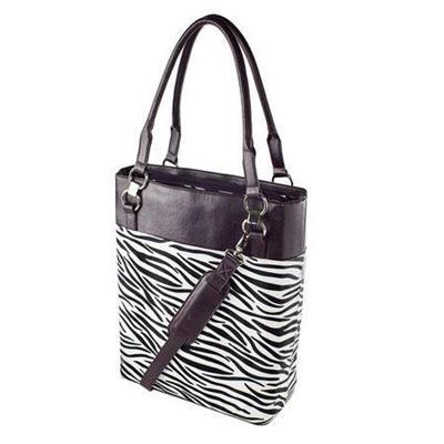 Women In Business Wib 14bonclass-1 14 Bonita Classica Vertical Laptop Case - Zebra