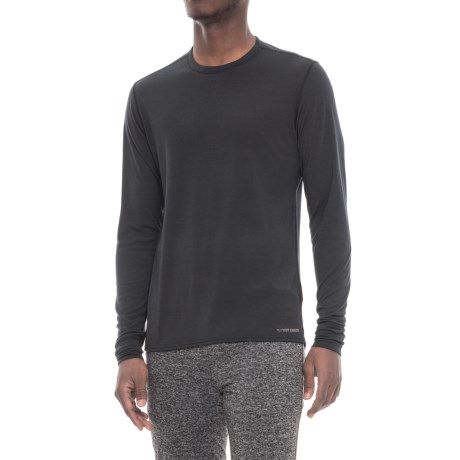 Midweight Base Layer Top - Crew Neck, Long Sleeve (for Men)