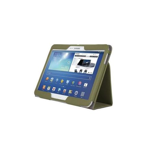 Kensington K97112WW Comercio Soft Folio Case & Stand for Galaxy Tab 3 10.1 (Olive)