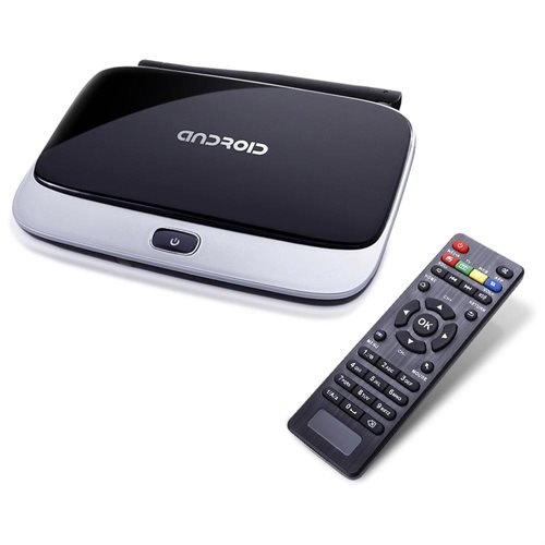 CS918 Quad Core Android 4.2 Smart TV Box Player XBMC HDMI WiFi 1080P 2GB 8GB EU XBMC 1920x1080P Multi-language Ethernet Support Youtube Skype