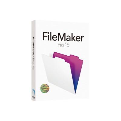 Filemaker Hjvc2zm/a Pro - (v. 15) - Box Pack - 1 User - Academic  Non-profit - Win  Mac - Multilingual